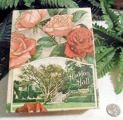 Vintage Gorgeous Chocolates Box Haddon Hall Photograph Covered In Roses