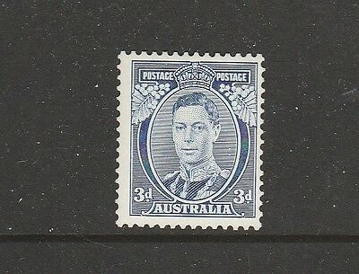 """KGVI 1937 3d BLUE DIE 1 """"ERROR"""" T AND A JOINED """"MINT""""  FRESH SG 168 £60"""