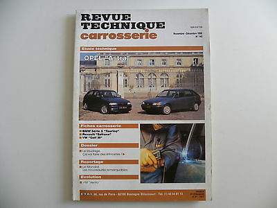 revue technique automobile carrosserie RTA OPEL ASTRA n°140