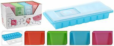 Ice Cube Tray with Lid Party Bar Ice Cube Mould Easy to Fill No More Spill