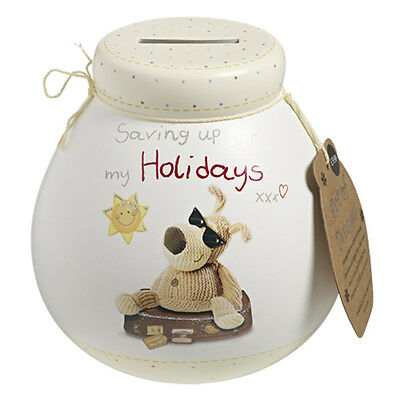 Boofle Holiday Pot Of Dreams Money Box Piggy Bank Savings Gift Coins Novelty New