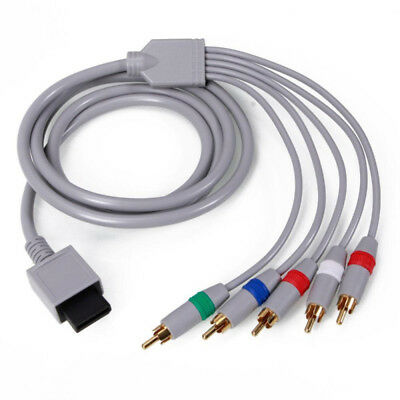 High Quality Gold Plated HD Component AV TV Video Cable for Nintendo Wii/ Wii U
