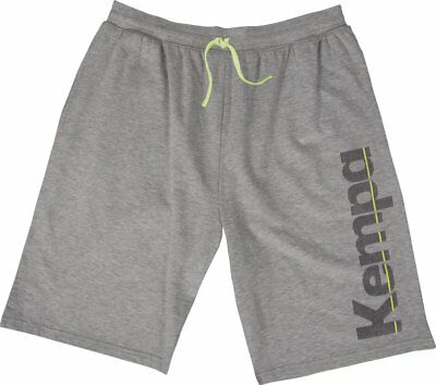 Kempa Kids Core Sports Training Casual Long Shorts with Pockets Grey Melange