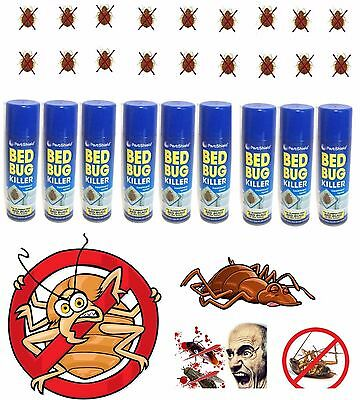 Bed Bug Killer Spray Kill Bed Bugs Treatment Mattress Bed Frame Carpet Safe