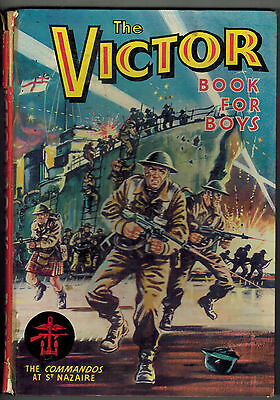 VICTOR BOOK FOR BOYS 1964 from Victor Comic FIRST ONE!