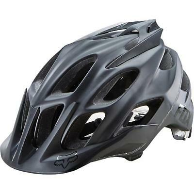 FOX 2016 DOWNHILL / MTB HELM - FLUX - matt-schwarz Motocross Enduro MX Cross