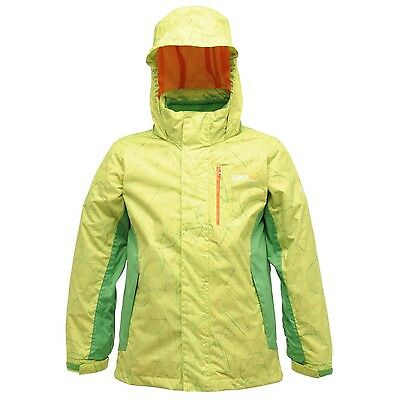 Regatta Moonflare Girls Waterproof Breathable Hooded 3in1 Jacket Age 7-8 years