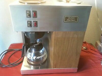 bunn coffee maker pour omatic brown commercial machine 12 cup