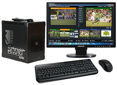 HD Portble Live Event Video Production Switcher with Streaming and Editing