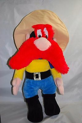 "VTG 26"" Yosemite Sam Plush Doll Toy By Warner Bros 1971"