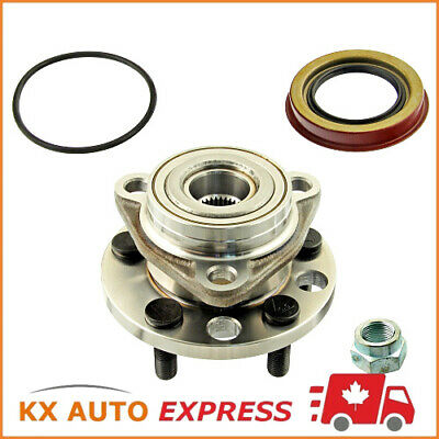 New Front Wheel Hub & Bearing Assembly Set for Left or Right Side