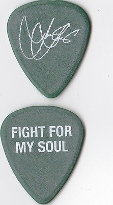 Jonny Lang Tour guitar pick-Fight For My Soul 2015 tour stage used