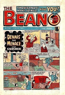 Uk Comics The Beano 250+ Humour Comics From 1980-84 On Dvd