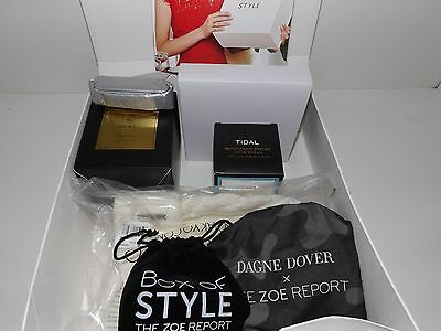Brand New Unopened Rachel Zoe Winter 2016 Box Of Style Contains All 7 Items!