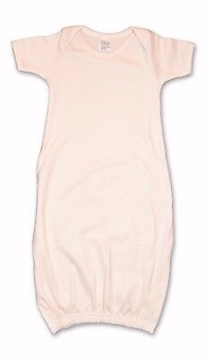 100% Organic Cotton Baby Gown in Natural - One Size