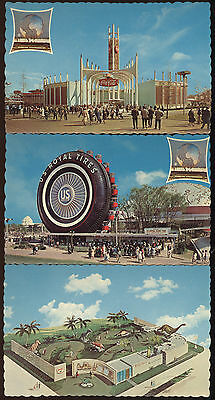 Lot Of 9 Unused Post Card From 1964 New York World's Fair