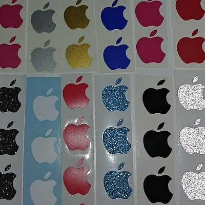 ( 50x ) Apple Logo Sticker Decal Vinyl for iPhone SE, 5 5s 6s 6s+ 6 6+  7 7+