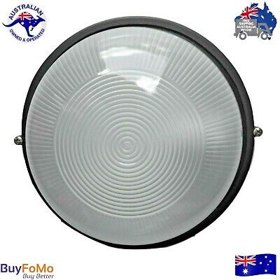 LED compatible Round Bunker, Outdoor wall mounted house light