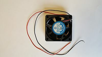 Sinwan SD6025PT-12M Brushless DC Fan 12V, 0.12A, 2 Wire Leads (Lot of 4)