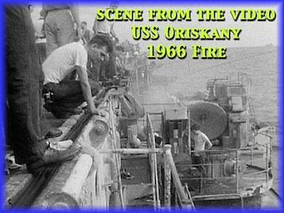 USS Oriskany 1966 Fire: Damage to Carrier, Burial at Sea, Return to Cubi Point