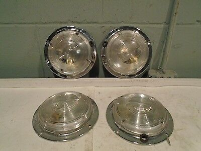 Fire Truck Compartment Lights Lot of 4 Truck Lite Do-Ray P-426 EMS Rescue Engine