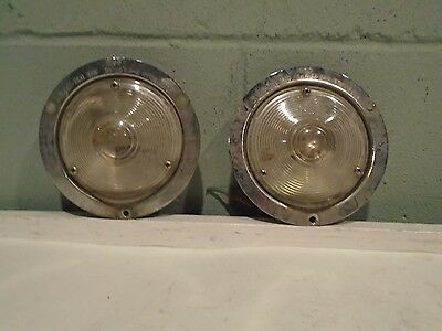 Signal Stat 3600 Emergency Lights Pair Fire Truck EMS Rescue Engine Ambulance