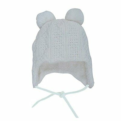 Warm Cute Baby Toddler Girl Fall Winter Earflap Beanie Hat M: 6 24 Months