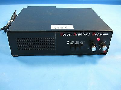 Federal Signal Voice Alerting Receiver, w/ Power supply