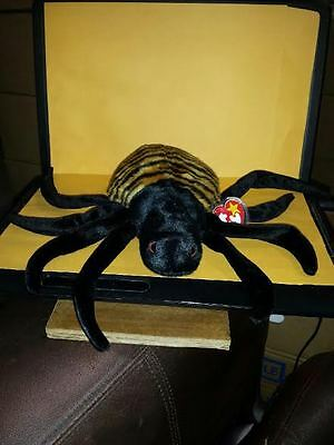 Ty Beanie Buddies Spinner Spider 1999