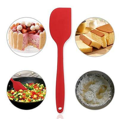 Silicone Spatula Set Heat Resistant Silicone Icing Cooking Flexible Non Stick LD