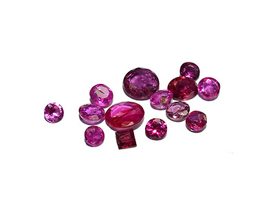 Nice Bright Color Ruby natural facet cut clean gemstones 2.36 Carats