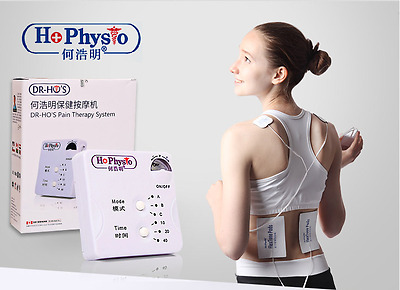 DR HO'S Dual Double Muscle Massage Therapy System Pain Relieve  New