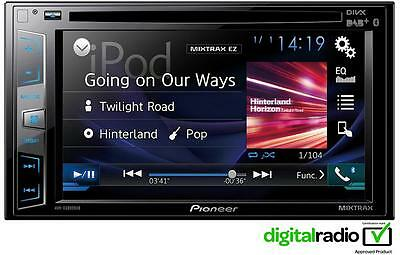 Ex Display Pioneer AVH-X3800DAB Digital Double Din Receiver Device Car Stereo
