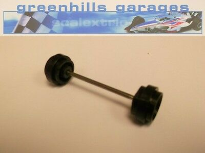 Greenhills Scalextric Sauber Mercedes AEG No.62 C357 Front Axle & Wheels Used...