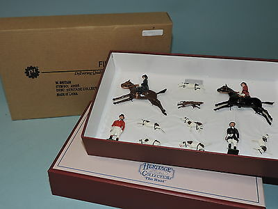 W. Britain HERITAGE COLLECTION ''THE HUNT SET'' 49505 MB