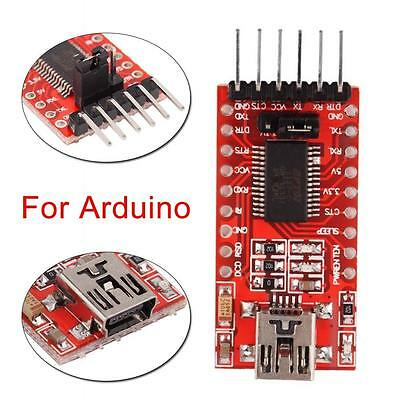 5V / 3.3V FTDI FT232RL USB to TTL Serial Converter Adapter Module For Arduino GT