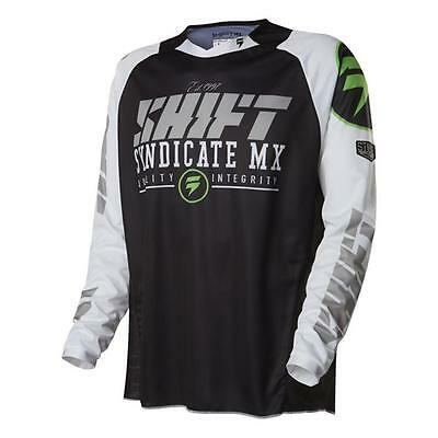 SHIFT MX 2016 Motocross / MTB Jersey Strike - schwarz CAMO Motocross Enduro MX C