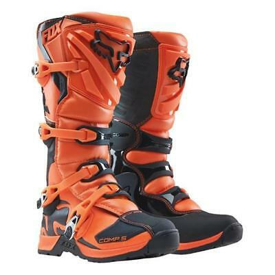 FOX YOUTH COMP 5 Motocross Kinder Stiefel - orange Motocross Enduro MX Cross