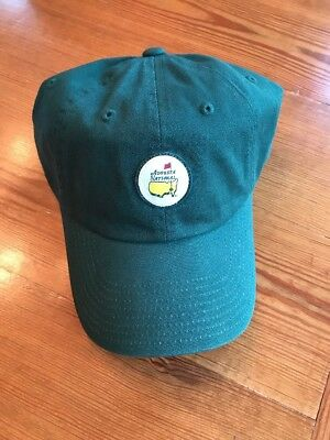 Masters Augusta National Golf Club Members Only Hat - Green