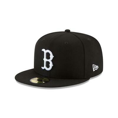 New Era - 59Fifty Fitted Cap. Boston Red Sox. Black (Rrp £30) Free Cap Box