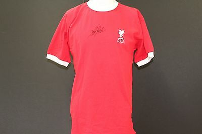 Kevin Keegan Liverpool FC Tribute Hand Signed Football Shirt