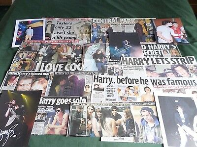 Harry Styles - One Direction Singer - Pop - Clippings/cuttings Pack