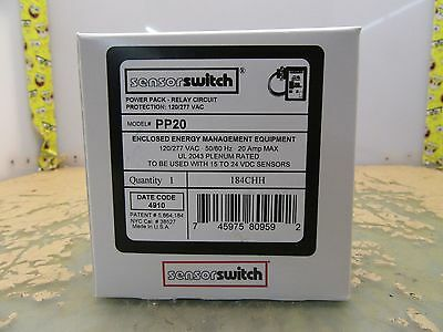 lot of 5x sensor switch PP20 power packs for 15-24V sensors (3*B-19)