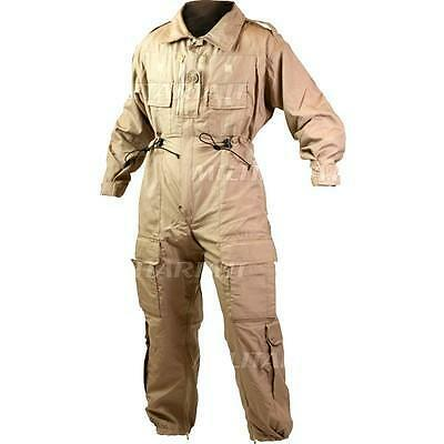 RAF RN Army Fighting Vehicle flight suit Beige Sand Desert Coveralls 38-40 ch