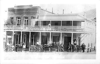 Austin Nv International Hotel Kokak  Rppc Postcard