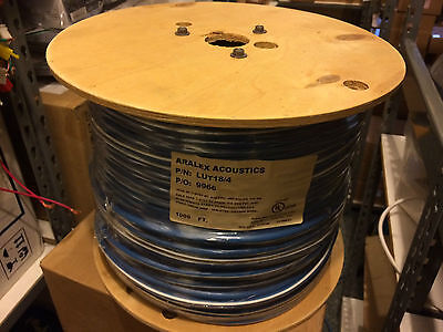 Lutron 18/4 shielded control wire for Lutron Home systems roll of 1000 feet
