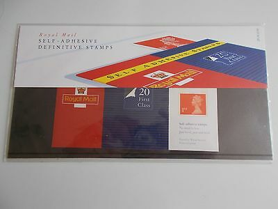 GB 1993 Machin NVI Self-adhesive Stamps Presentation Pack no 29 - Missing Number