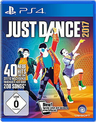 Just Dance 2017 - PlayStation 4 NEUWARE OVP