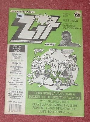 Zit Comic No 3 Issue 1991 (Like Viz)