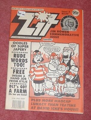 Zit Comic No 4 Issue 1991 (Like Viz)